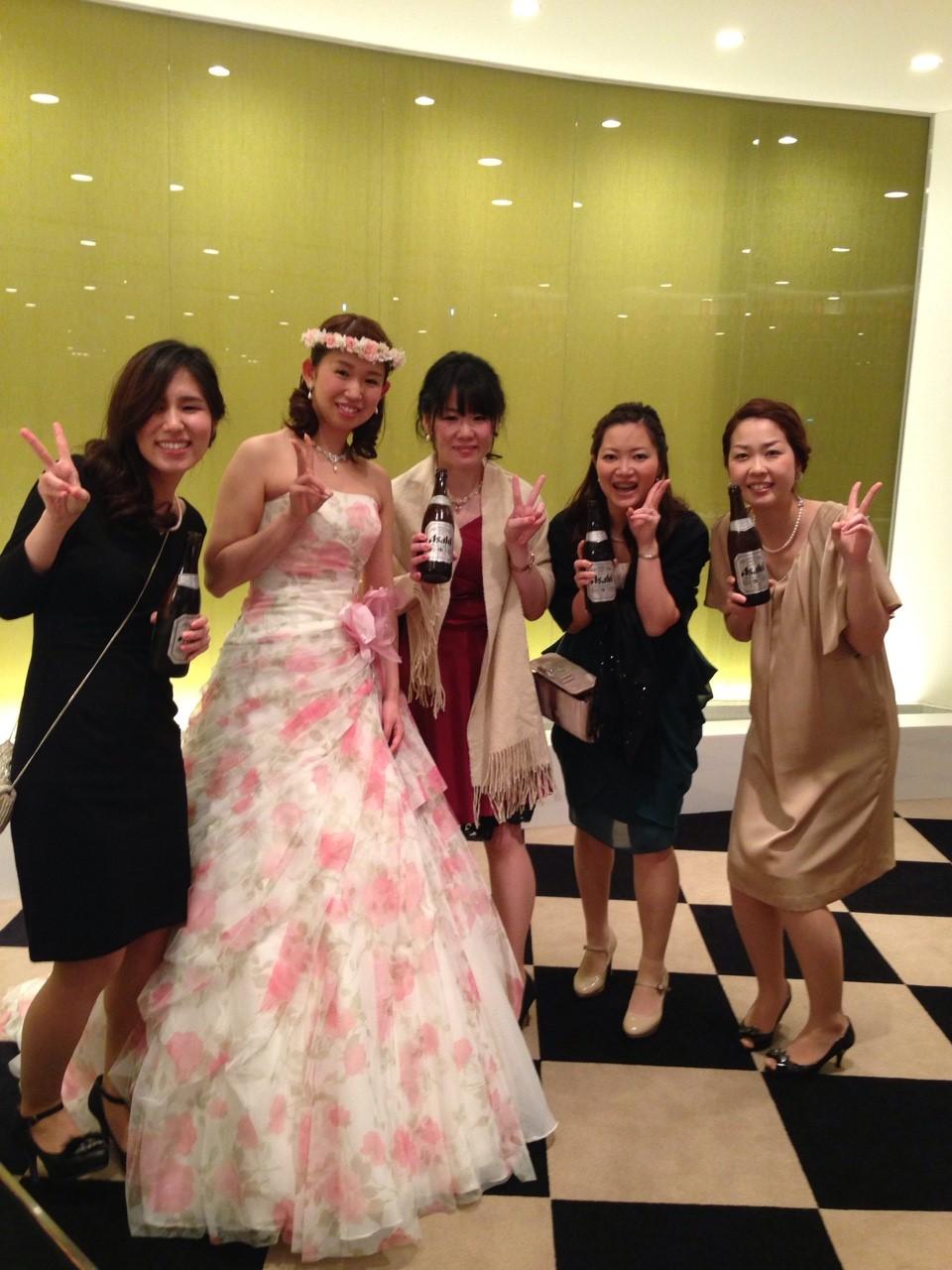 神田さん結婚式